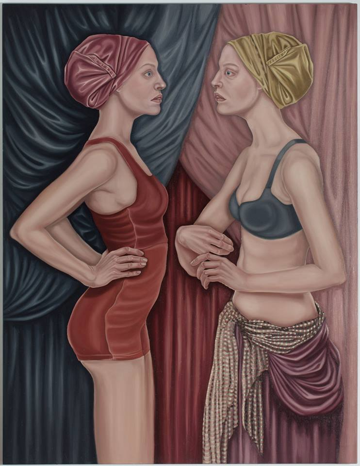 31. Annunciation, 2019, olej, płótno,130x100 cm, kolekcja prywatna
